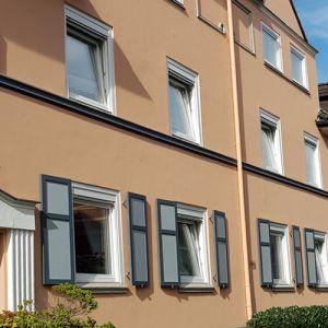Fassadenbeschichtung  Kaiser Friedrich Straße - Duisburg