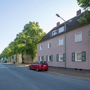 Altbausanierung in der Ziegelhorststraße in Duisburg